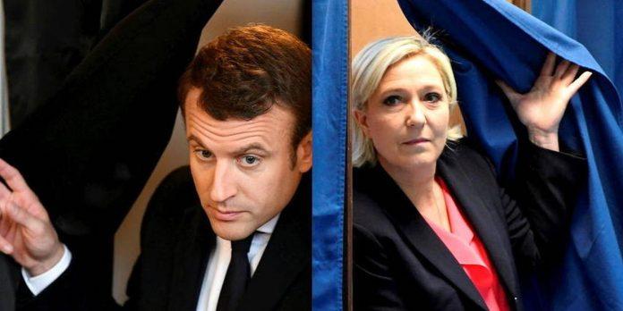 Élection présidentielle 2022 : Macron devance légèrement Le Pen, selon un sondage