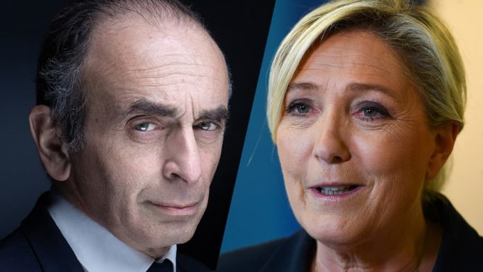 Élection présidentielle 2022 - Sondage : Zemmour grimpe à 11% à égalité avec Mélenchon