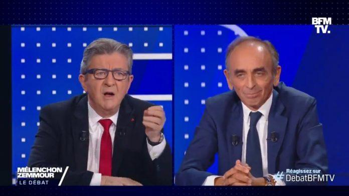 Le débat Éric Zemmour - Jean-Luc Mélenchon fait un carton d'audience